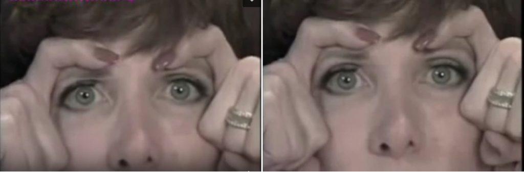 Упражнения Кэрол Маджиол на лоб