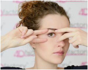 упражнения для глаз Ревитоника