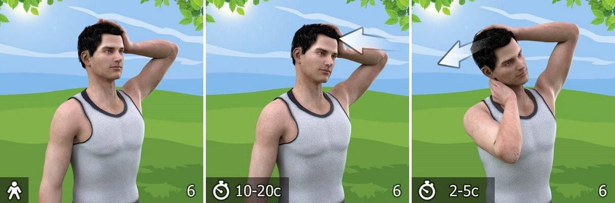 упражнение от остеохондроза 6