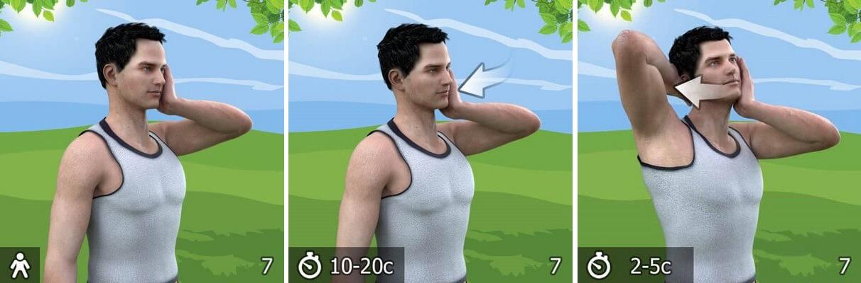 упражнение от остеохондроза 7