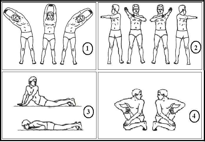 упражнения пракшаланы