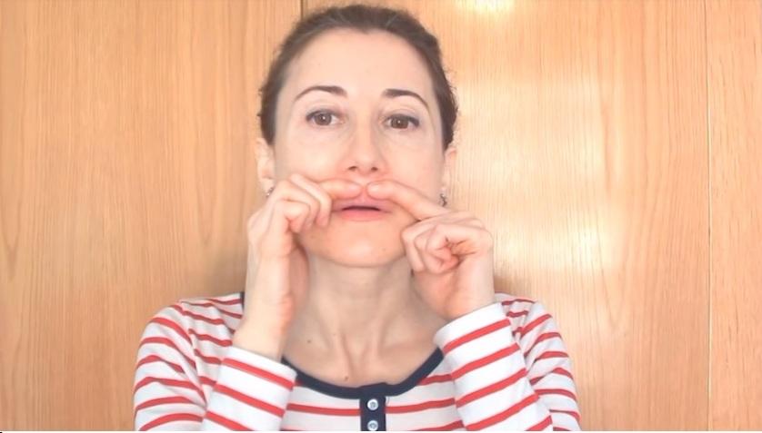 упражнение для губ 6